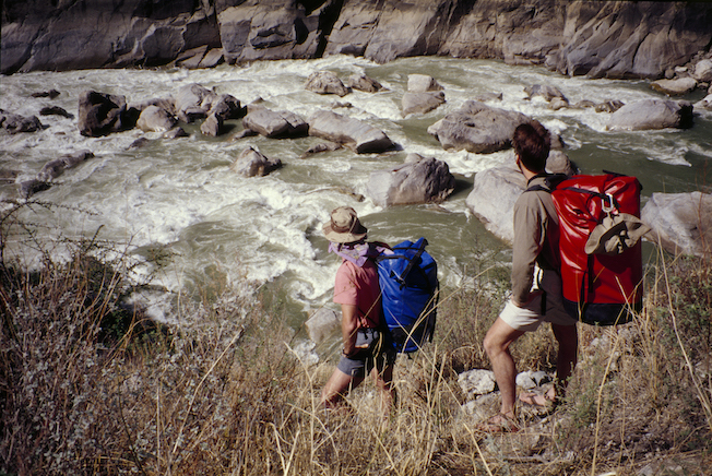 71a 1994 Gil Troy Above River Hike Out