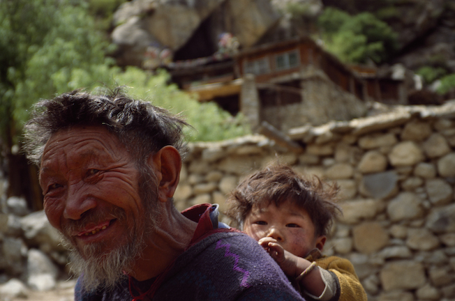 20a 1994 Tibetan Villager Hike Out copy